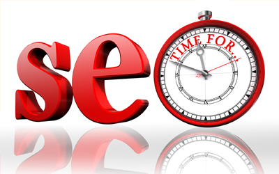 Be patient! SEO takes time.